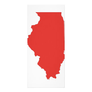 ILLINOIS - a RED State Rack Card