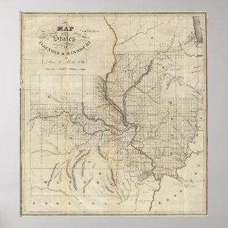 Illinois and Missouri 2 Poster