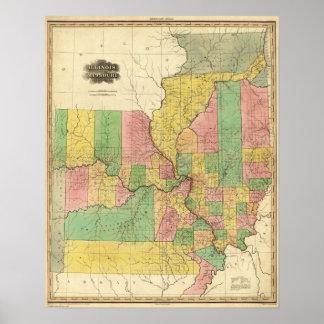 Illinois and Missouri 3 Poster