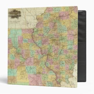 Illinois And Missouri 3 Ring Binder