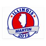 Illinois Andy Martin Tarjeta Postal