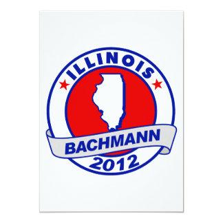 Illinois Bachmann Custom Invitations
