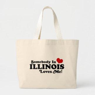 ILLINOIS TOTE BAGS