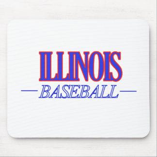Illinois baseball DESIGNS Mouse Pad