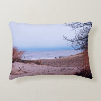Illinois Beach State Park Dunes Accent Pillow