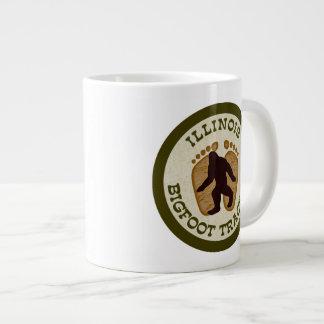 Illinois Bigfoot Tracker Giant Coffee Mug