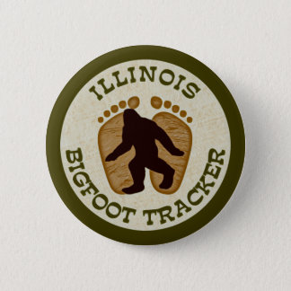 Illinois Bigfoot Tracker Pinback Button