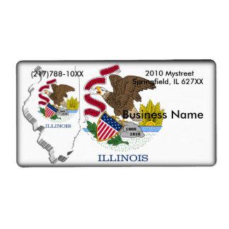 Illinois Business Label