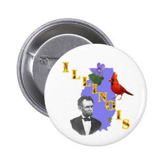 Illinois Button