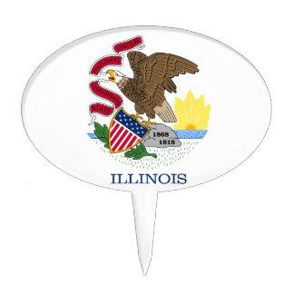 Illinois Cake Topper