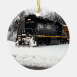 Illinois Central 6204 Christmas Tree Ornament