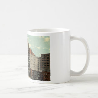 Illinois Central Depot Chicago Repro Vintage 1913 Coffee Mug