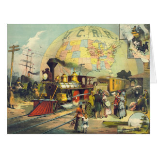 Illinois Central Railroad 1882 Card