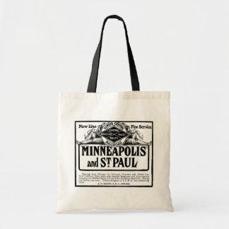 Illinois Central Railroad Vintage Budget Tote Bag