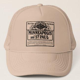 Illinois Central Railroad Vintage Men's Hat