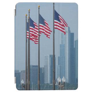 Illinois, Chicago. El embarcadero de la marina de Cover De iPad Air