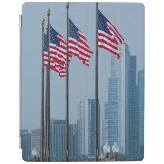 Illinois, Chicago. El embarcadero de la marina de Cubierta De iPad