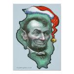 Illinois Christmas Invitation