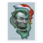 Illinois Christmas Postcards