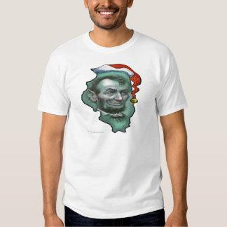 Illinois Christmas Tee Shirt