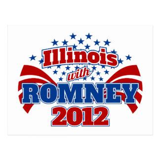 Illinois con Romney 2012 Postal