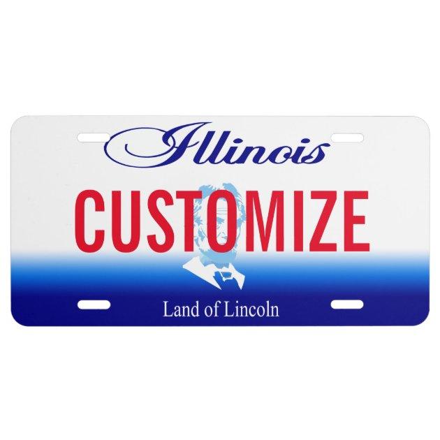 Illinois License Plates Custom - Image Mag
