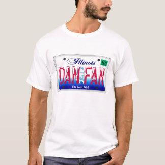 Illinois Dan Fan Girl  Shirt