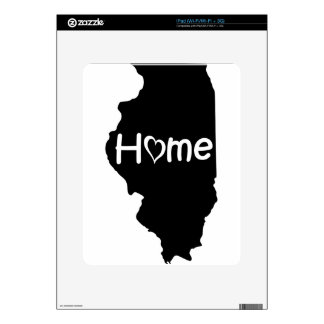 illinois decals for iPad
