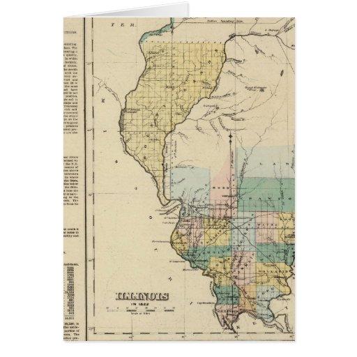 Illinois en 1822 felicitación