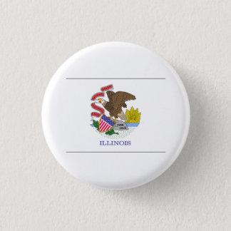 Illinois FLAG International Button