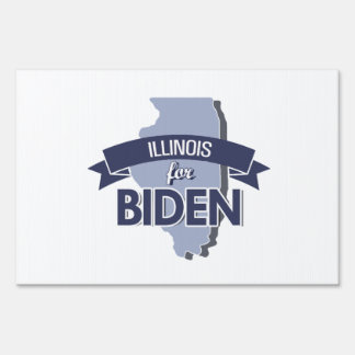 ILLINOIS FOR BIDEN - png Signs