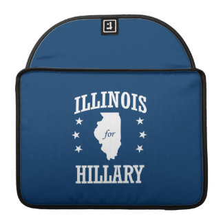ILLINOIS FOR HILLARY SLEEVES FOR MacBook PRO