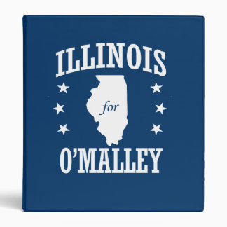 ILLINOIS FOR O'MALLEY VINYL BINDER