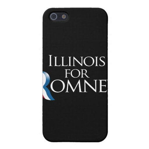 Illinois for Romney.png Covers For iPhone 5