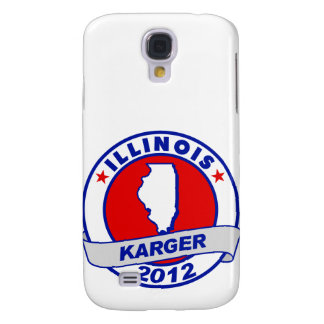 Illinois Fred Karger Galaxy S4 Cases