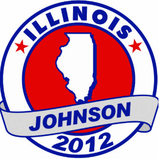 Illinois Gary Johnson Acrylic Cut Out