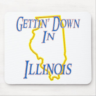 Illinois - Getting abajo Alfombrilla De Ratones