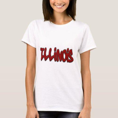 Illinois Graffiti T_Shirt