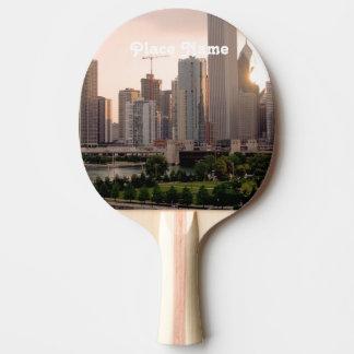 Illinois Ping Pong Paddle