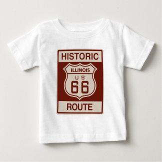 Illinois histórica RT 66 Playera