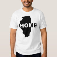 Illinois Home Away From Home T-Shirt