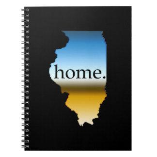 Illinois Home Horizon Notebooks