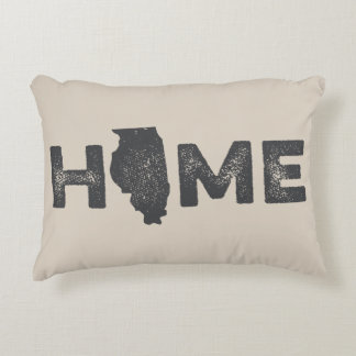 Illinois Home State Love Pillow