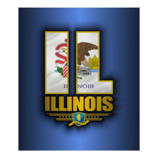 Illinois (IL) Poster