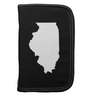 Illinois in White and Black Folio Planner