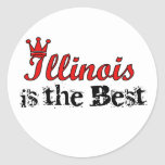 Illinois is the Best Stickers