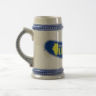 Illinois Jarra De Cerveza