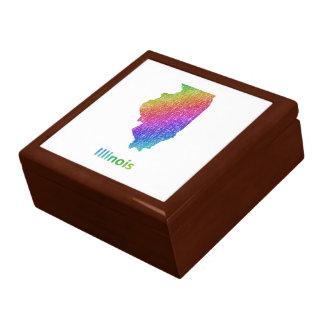 Illinois Jewelry Box