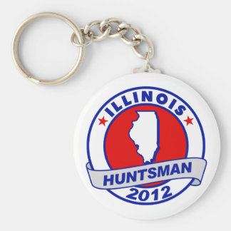 Illinois Jon Huntsman Key Chains