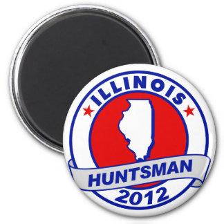 Illinois Jon Huntsman Fridge Magnets